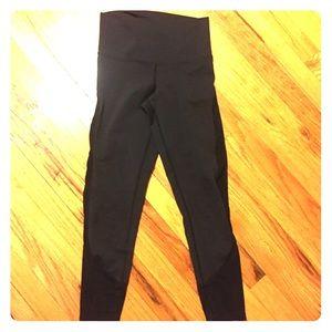 DYI mesh side seam leggings